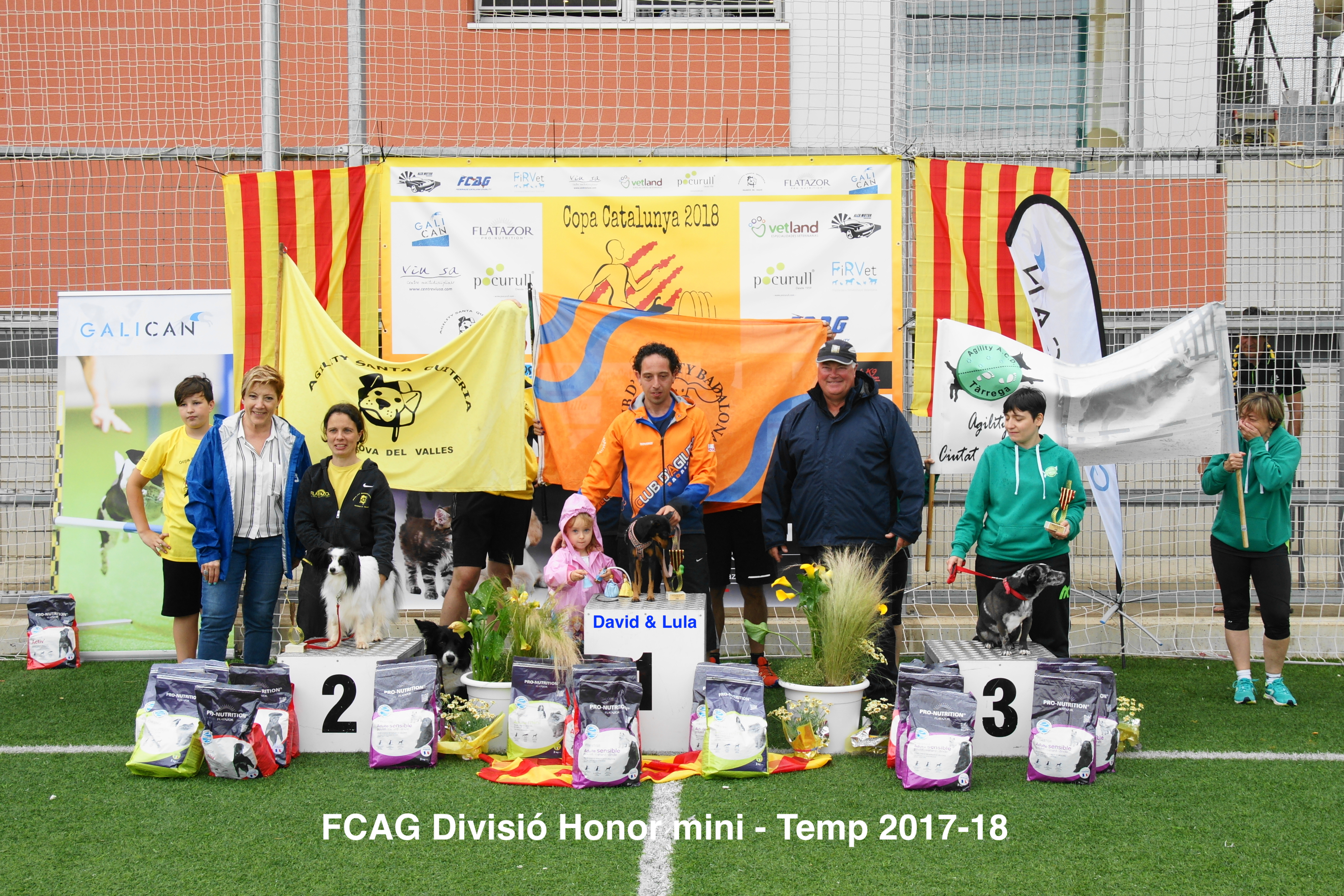 FCAG Liga Catalana Temp 2017-18 - División Honor Mini